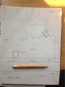 The required sketch of the site (you can click to enlarge)...