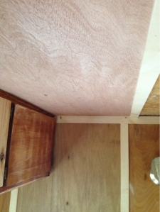 Rear ceiling, post repair.
