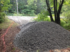 ...the gravel...
